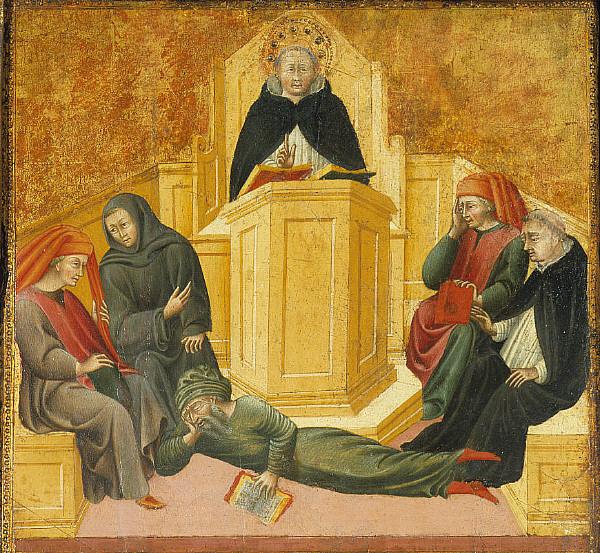 Εικόνα του 15ου αιώνα από τον  Τζοβάννι ντι Πάολο.